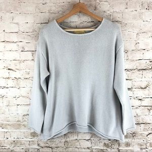 Women's Wildfox Gray Pullover Sweater Size XS